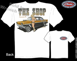 Chevy Tee Shirt 56 Chevrolet Shirts 1956 Racing Shirts Pin Up Girl T Shirt