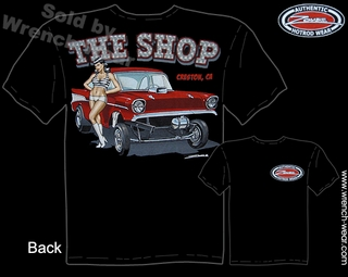 Chevrolet Tee Shirts 57 Chevy Racing T Shirts 1957 Vintage Drag Racing Apparel