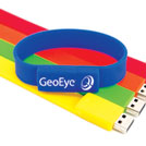 Flash Memory Drive - USB 2.0 w/ Custom Imprint   (Style Bracelet)