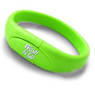Flash Memory Drive - USB 2.0 w/ Custom Imprint   (Style Bracelet 2)