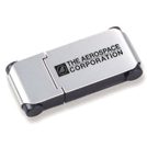 Flash Memory Drive -  USB 2.0 w/ Custom Imprint (Style 198) Aluminum Casing