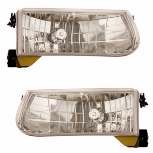 Ford Explorer / Mountaineer 95-01 Head Light Crystal - Click to enlarge