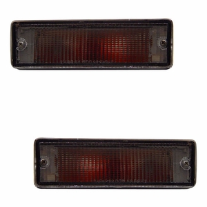 Nissan Pickup 88-97 Bumper Light Clear - Click to enlarge
