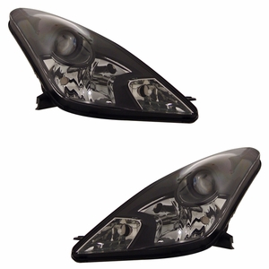 Toyota Celica 00-04 Head Light Black - Click to enlarge