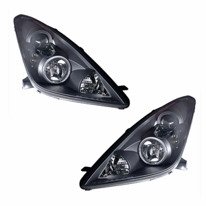 Toyota Celica 00-04 Projector Head Light Halo Black - Click to enlarge