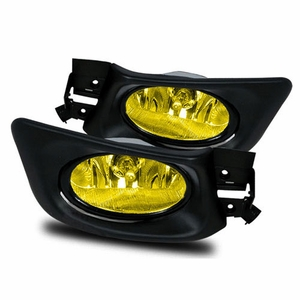 Honda Accord 04-05 (U.S. Type) Fog Light with Wiring Kits and Switch (Yelllow) - Click to enlarge