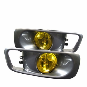 Honda Civic 99-00 Fog Lights (Yellow) - Click to enlarge