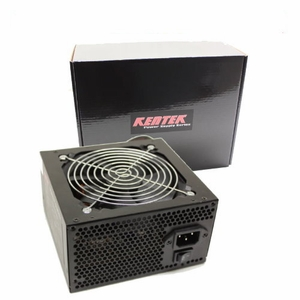 650 Watt 120mm Fan ATX Power Supply 12V 2.3 EPS12V PCI-E SATA 20/24 PIN by KenTek - Click to enlarge