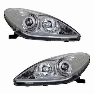 Lexus ES 300 02-07/330 04-06 Projector Head Light Halo Chrome Clear (CCFL) - Click to enlarge