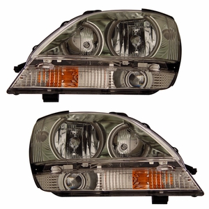 Lexus RX 300 01-03 Head Light Halo Chrome Clear (CCFL) - Click to enlarge