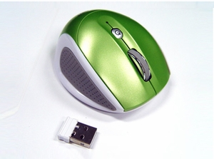 2.4GHZ Wireless 800 / 1600 Dpi Switchable Mouse - Click to enlarge