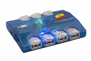 USB 2.0 Hub 7 Ports - Click to enlarge