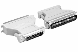 DB25 Female / CN50 Male Molded SCSI Adaptor - Click to enlarge