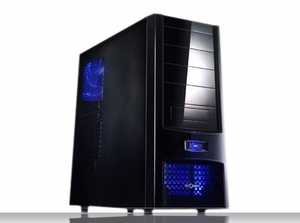 Soho 1 All Black Tool Less ATX Case w/ 480W PS - Click to enlarge