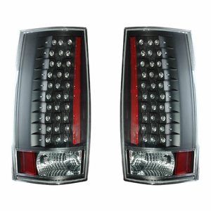 Chevy Tahoe / Suburban 07-Up L.E.D G4 Tail Light Black (Escalade Look) - Click to enlarge
