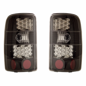 Chevy Tahoe / Suburban / G.M.C Denali 00-06 L.E.D Tail Light Black - Click to enlarge