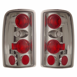 Chevy Suburban / Tahoe 00-06 Tail Light Chrome - Click to enlarge