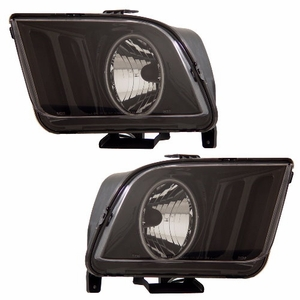 Ford Mustang 05-09 Head Light Halo Black (CCFL) - Click to enlarge