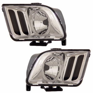 Ford Mustang 05-09 Head Light Halo Crystal (CCFL) - Click to enlarge