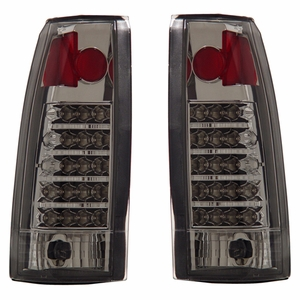 Chevy Full Size 88-98 L.E.D Tail Light Chrome - Click to enlarge