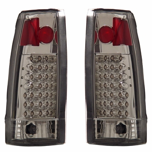 Chevy Full Size 88-98 L.E.D Tail Light G2 Chrome - Click to enlarge