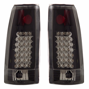 Chevy Full Size 88-98 L.E.D Tail Light G2 Black - Click to enlarge