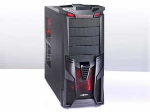 Optimus All Black Gaming Case - Click to enlarge