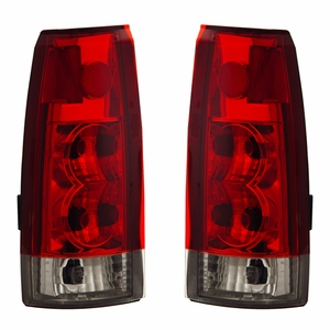 Chevy Full Size 88-98 Tail Light Red / Clear New Version - Click to enlarge