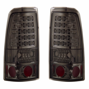 Chevy Silverado 03-06 L.E.D Tail Light All Smoke - Click to enlarge