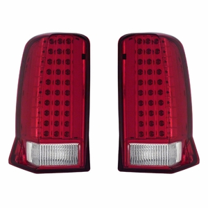 Cadillac Escalade 02-06 Tail Light Red / Clear (w/o cap) - Click to enlarge