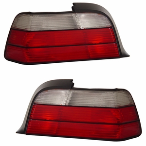 BMW 3 Series E36 92-98 2 DR Tail Light Red / Clear - Click to enlarge