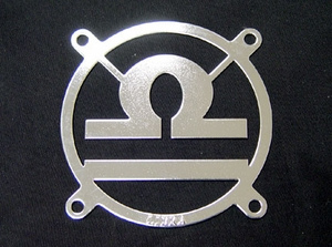 Zodiac Fan Grill - Libra - Click to enlarge