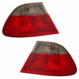 BMW 3 Series E46 99-01 2 DR Tail Light Red / Smoke Lens (Need EB-03-9901TLRC2DSM-4P to be one sets) - Click to enlarge