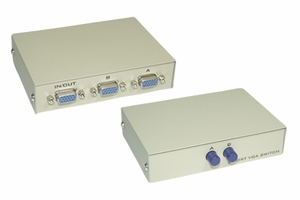 2 Ports VGA Switch - Click to enlarge