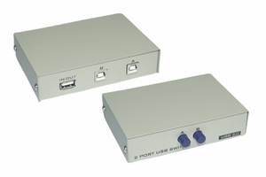 2 Ports USB 1A and 2B Manual Switch - Click to enlarge