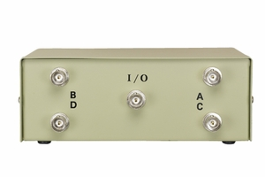 4 Ports BNC Female Data Transfer Switch - Click to enlarge