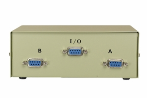 2 Ports DB9 Female Manual Data Transfer Switch - Click to enlarge