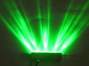 Green 5 LED Step Light w/ Black Case - Click to enlarge