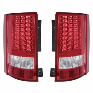 Dodge Grand Caravan; Crysler Town & Country 08 Up L.E.D Tail Light Red / Clear - Click to enlarge