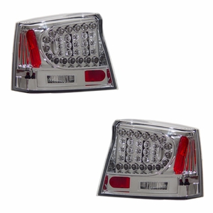 Dodge Charger 06-08 L.E.D Tail Light Chrome - Click to enlarge