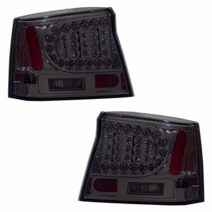 Dodge Charger 06-08 L.E.D Tail Light Dark Smoke - Click to enlarge