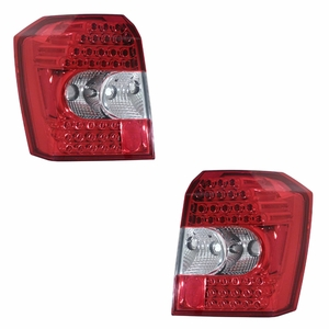 Dodge Caliber 07 Up L.E.D Tail Light Red / Clear - Click to enlarge