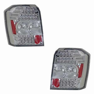 Dodge Caliber 07 Up L.E.D Tail Light All Chrome - Click to enlarge