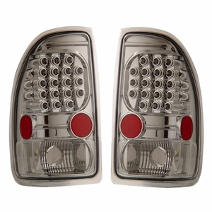 Dodge Dakota 97-04 L.E.D Tail Light All Chrome - Click to enlarge