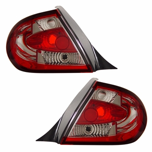 Dodge Neon 03-05 Tail Light Red / Clear - Click to enlarge