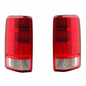 Dodge Nitro 07-08 L.E.D Tail Light Red / Clear - Click to enlarge
