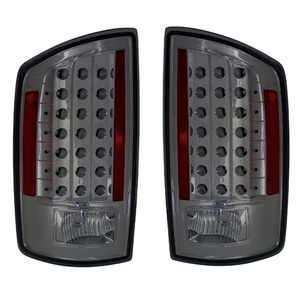 Dodge Ram 07-08 L.E.D Tail Light Smoke - Click to enlarge