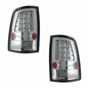 Dodge Ram 09-Up L.E.D Tail Light All Chrome - Click to enlarge