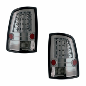 Dodge Ram 09-Up L.E.D Tail Light Smoke - Click to enlarge
