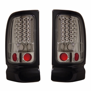 Dodge Ram 94-01 L.E.D Tail Light All Chorme - Click to enlarge
